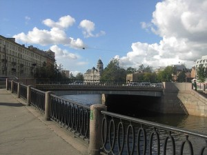 Набережная реки Карповки