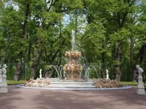 Летний сад. Фонтан Коронный.