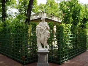 Летний сад. Скульптура Нимфа Летнего сада.