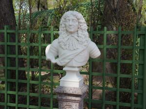 Летний сад. Бюст Герцог Бранденбургский.