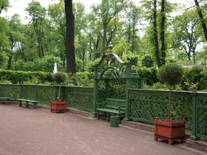Летний сад. Французский партер. Шпалеры.