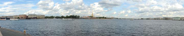 Летом Петербург наиболее красив