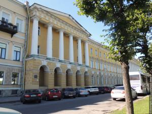 Здание казарм Павловского лейб-гвардии полка