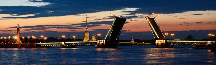 Панорама Петербурга